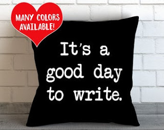 writer pillow