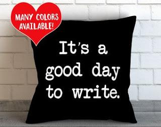 writer pillow